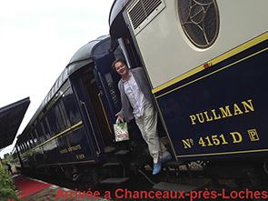 Arrivée du Manifeste Gourmand des Herbes Folles en Orient Express